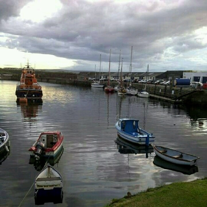 Portrush Harbour, North Coast, Northern Ireland