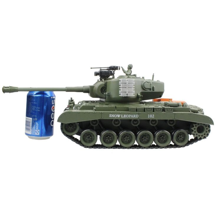 RC Tank US M26 15 Channel 1 20 Pershing Snow Leopard Main Battle Tank Model With. Click visit to buy #RemoteControl #Tank