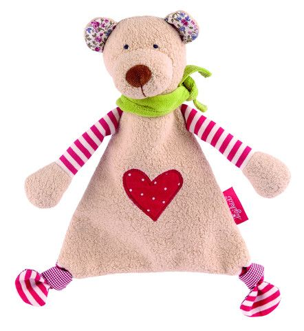 """Sigikid Comforter Organic Collection Bear Snuggly £23.00  Simply to fall in love with and naturally """"all-natural"""". This delightful comforter will take baby's heart by storm and its blend of 100% certified organically cultivated cotton is also ideal for babies with sensitive skin."""