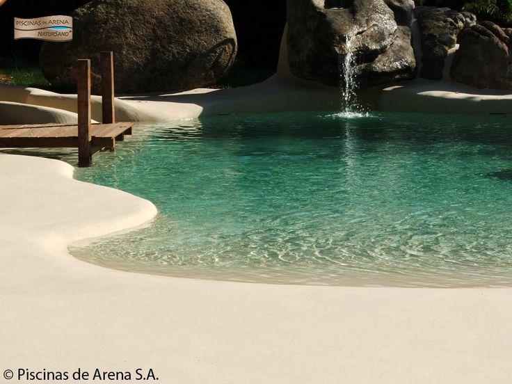 Oltre 1000 idee su cascata da giardino su pinterest - Piscinas de arena natursand ...