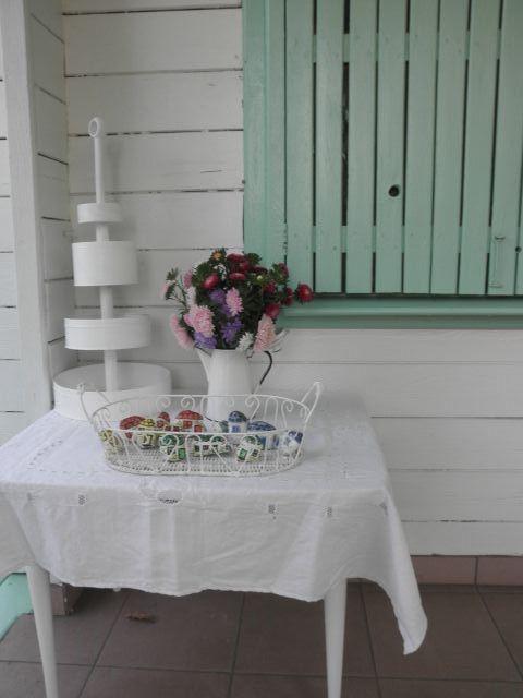 sierpniowa kompozycja na tarasie -------------------- august vignette on the porch