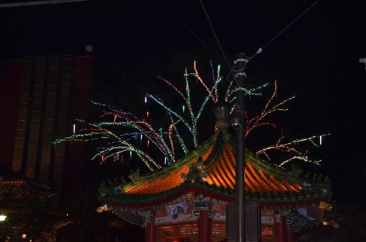 2012 new years night at Yokohama China town