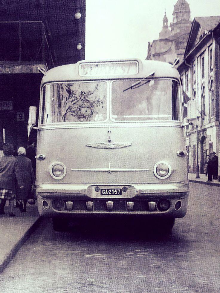 Ikarus 55 - fénykép a Magyar Műszaki és Közlekedési Múzeum gyűjteményéből