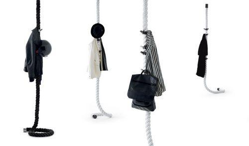 Contemporary suspended coat hook LA CIMA by Lapo Ciatti OPINION CIATTI