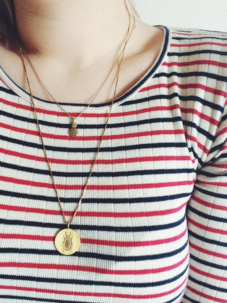 Pineapple twist. #hvisk #jewelry #hviskstyling #hviskstylist #jewellery #necklace #gold #guld #osiris #pineapple