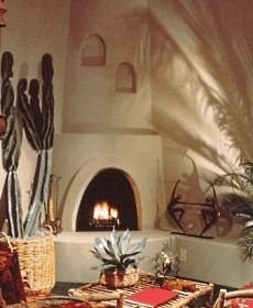 Kiva Fireplaces In The Home Make For A Cozy, Inviting Space.