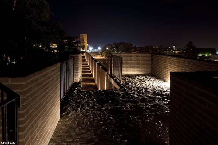 Reintegrazione del paramento sud-est delle mura di Cittadella (Pd)