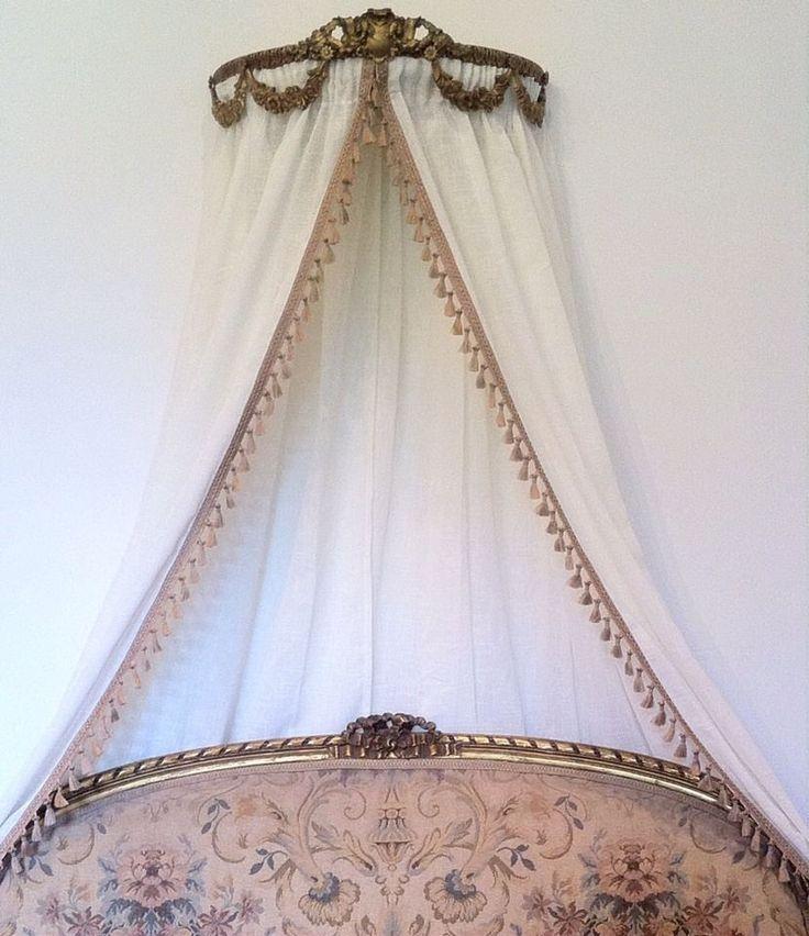 Antique Ornate Ciel Ceil De Lit Gold Bed French Crown Double Frame Canopy Gilt | Maison, Literie, linge de lit, Baldaquins, moustiquaires | eBay!
