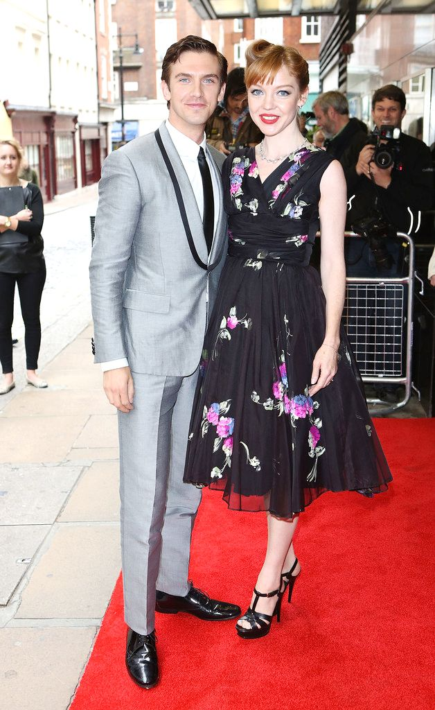 Dan Stevens and wife Susie at Gala Screening of #SummerInFebruary June 10, 2013
