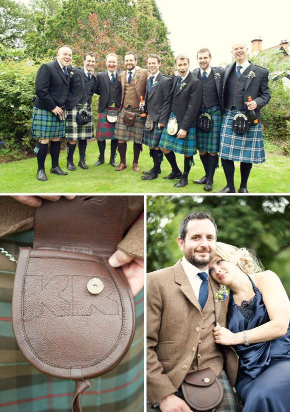 We've heard of mixed up bridesmaid dresses...should we do the same for groomsmen too?