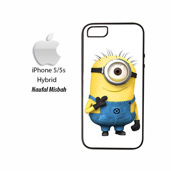 Funny One Despicable Me Minion iPhone 5/5s HYBRID Case