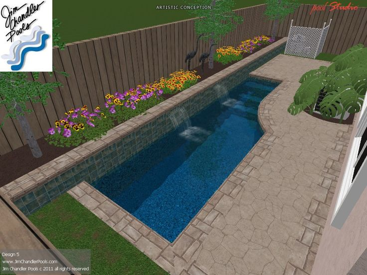 Swimming Pool Design - Big Ideas for small yards!Jim Chandler Pools