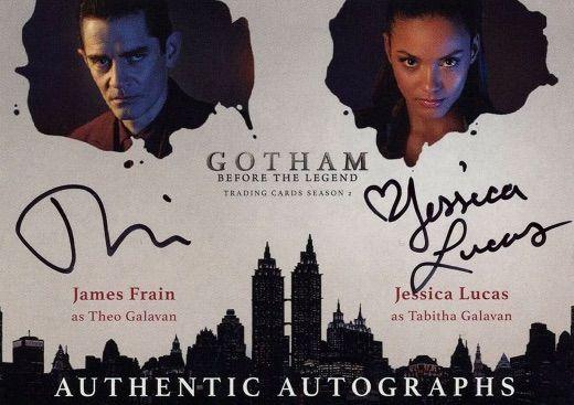 Dual Autographs James Frain as Theo Gavin and Jessica Lucas as Tabitha Gavin