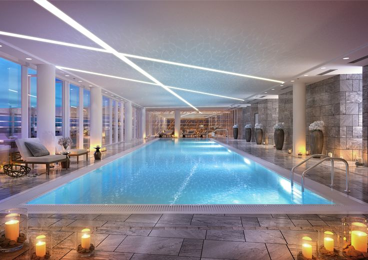 ZŁOTA 44 Amenities floor: Swimming pool ZŁOTA 44 Swimming pool #Warsaw #Złota44 #swimmingpool #luxury #luxuryinterior #residentialbuilding #luxurylifestyle