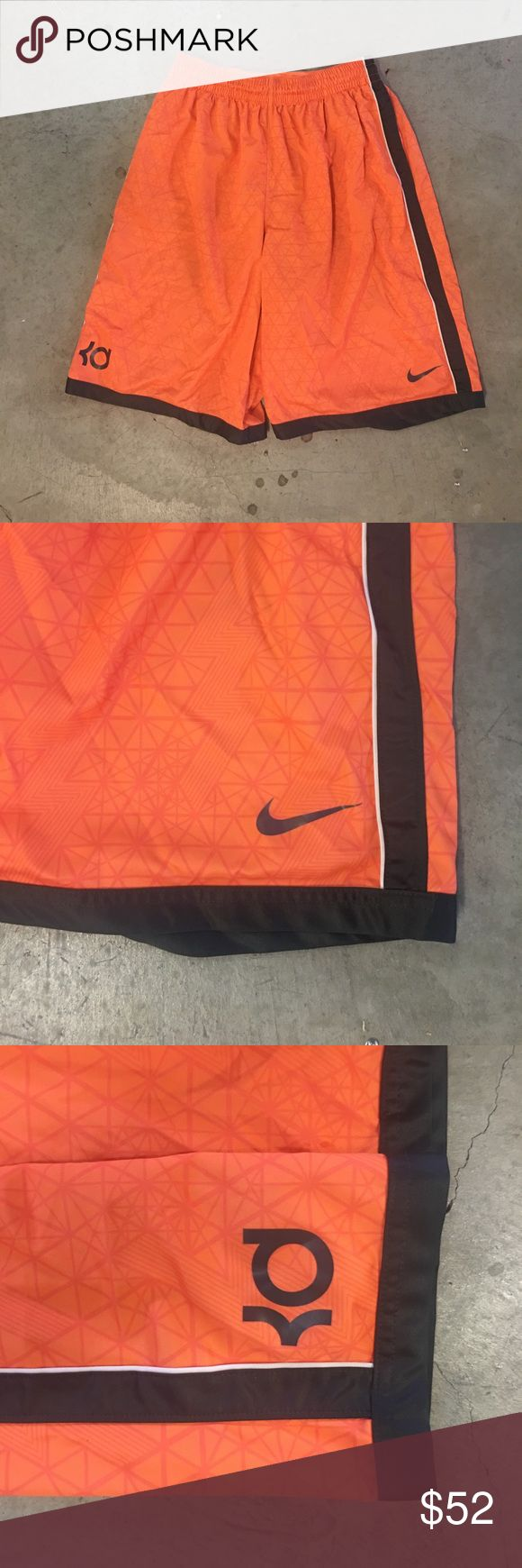 🏃🏽Nike Dri-Fit KD Basketball Shorts | Men's ‼️USED‼️  🏃🏽Nike Dri-Fit KD Basketball Shorts | Men's These shorts feel so good!!! They come in a very bright settle orange! Very loose fit. Available in a XL   Condition: Like New   ‼️Deals Welcome  🚫NoTrades Nike Shorts Athletic