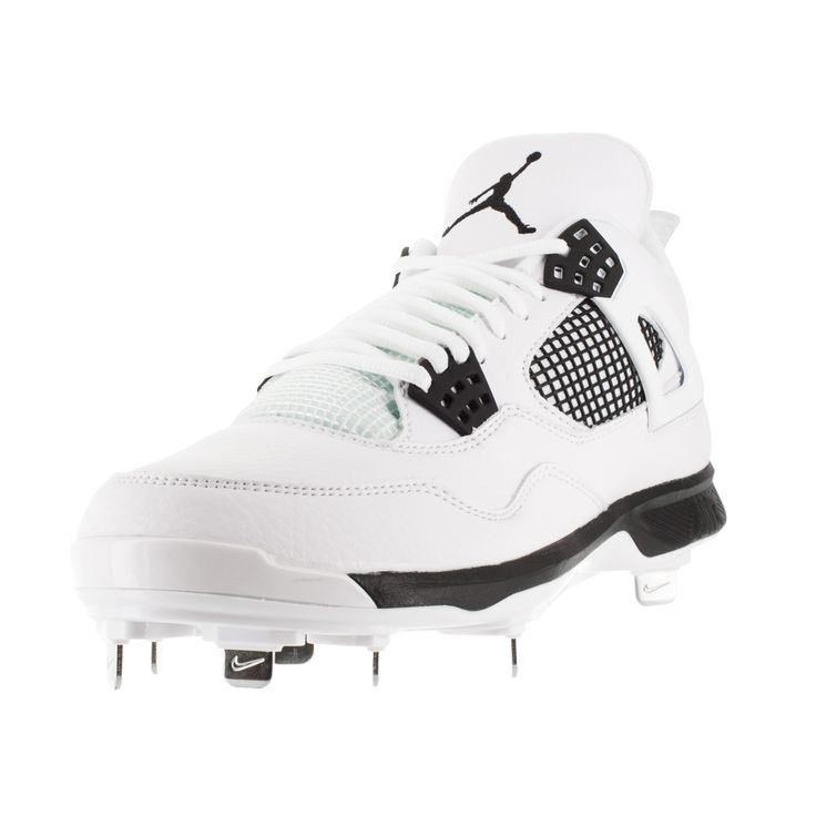 Nike Jordan Men's Jordan Iv Retro Metal /Black Baseball Cleat Men's Us
