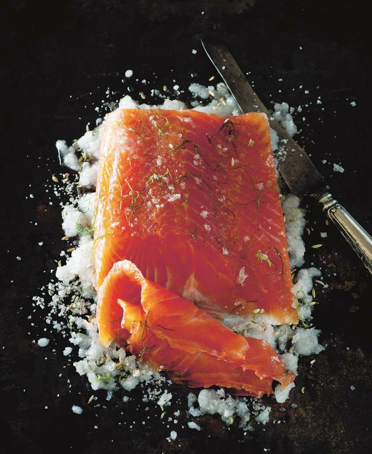 Classic cold smoked salmon by Stefano de Pieri from Nuovo Mondo   Cooked