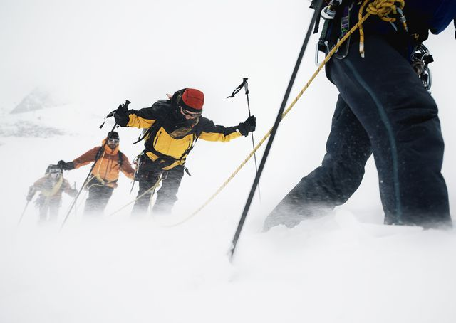 How to Use Wind Speed & Direction to Forecast Climbing Weather: Alaskan climbers battle fierce winds, the bane of mountaineers in every high mountain range.