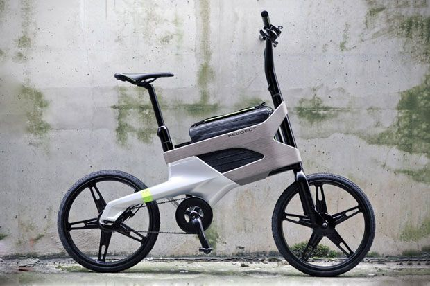 bike with a laptop compartment