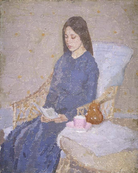 Cave to Canvas, Gwen John,The Convalescent, c. 1923-24