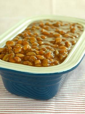 Tangy Barbecue Baked Beans- leave to whole foods to come through for a healthy receipe!
