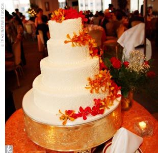 fall wedding cakes red wedding wedding stuff tangerine wedding wedding