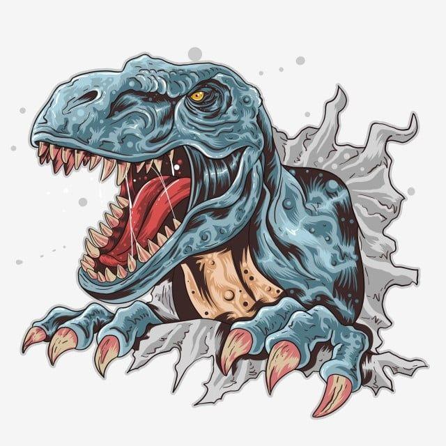 Png De Vetor T Rex Dino Clipart Bravo Animal Imagem Png E Psd Para Download Gratuito Dinosaur Art Dinosaur Art