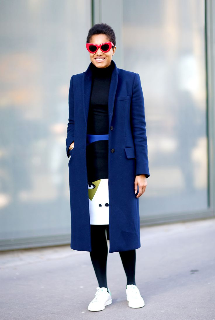 Street Style: Tamu McPherson after Kenzo in Paris
