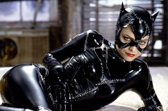 Michelle Pfieffer Catwoman Suit Movie Reproduction Batman Returns costume