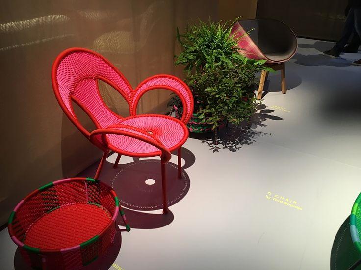 http://www.malfattistore.it/en/2016/04/malfattistore-milan-design-week-2016/    Moroso outdoor furniture   #malfattistore #interiordesign #shoponline #italianfurniture #homedecor