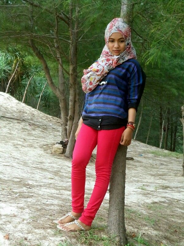 HIjab style.... i love red