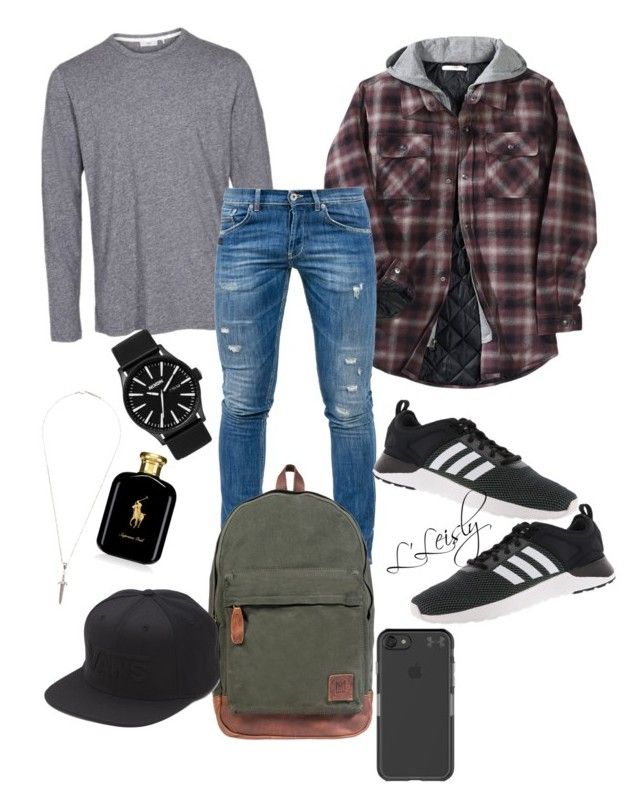 """""""Hey Chico!"""" by layaleisly ❤ liked on Polyvore featuring Other, Dondup, Roman Paul, Mahi, adidas, Under Armour, Vans, Ralph Lauren, Nixon and men's fashion"""
