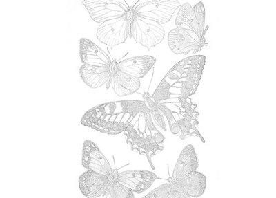 Bounty Of Butterflies Coloring Page