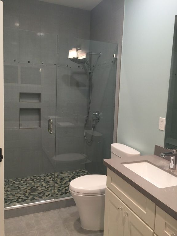 New Slate Bathroom: 17 Best Images About Small Bathrooms On Pinterest
