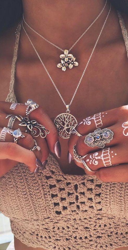 awesome cool Boho jewelry style ✌ ▄▄▄Find more here: Click xelx.bzcomedy.site/ P...