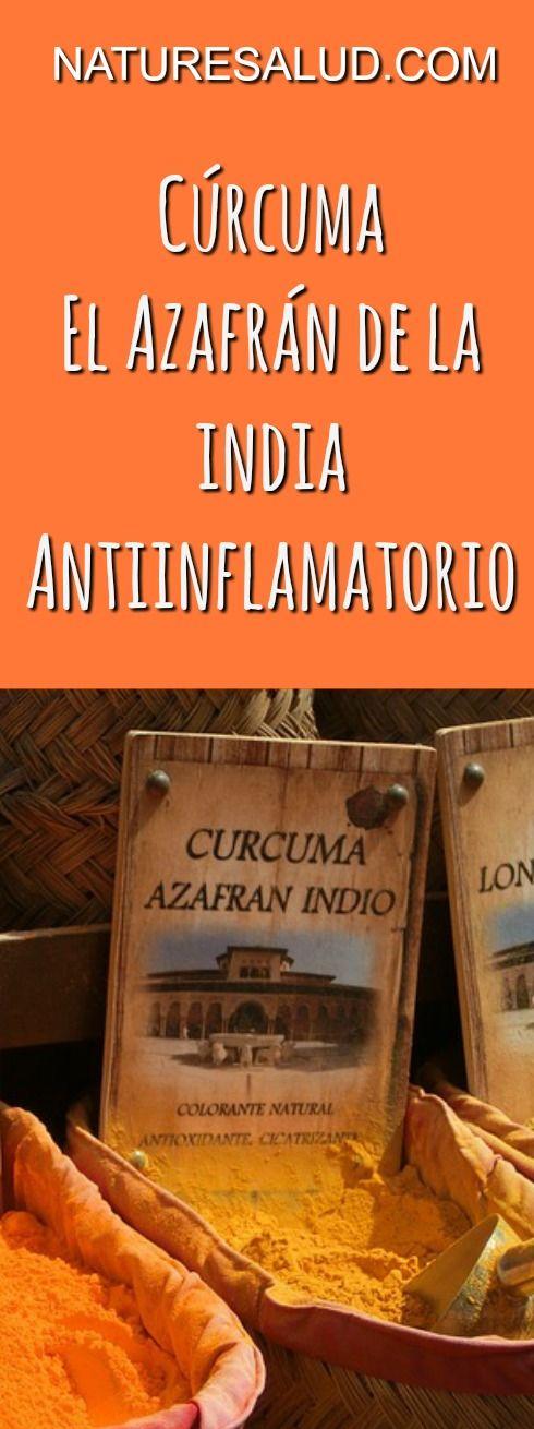 a o tumeric también llamada azafrán de la India por su uso en la India como especia colorante de los alimentos, forma parte desde hace siglos del conjunto de remedios para abordar la inflamación y el dolor en la medicina Ayurveda.