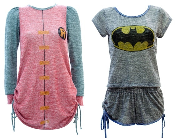 Batman + Robin pajamas. I need these. Very much. <33