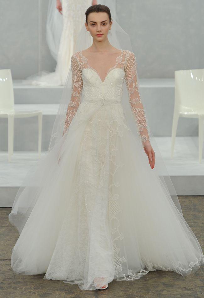 28 best Monique Lhuillier images on Pinterest | Wedding frocks ...
