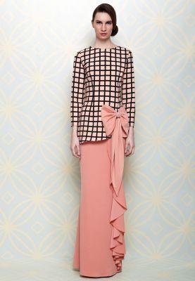 Norkiah Baju Kurung - Simple idea style Bridesmaid outfit