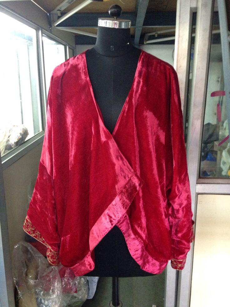 Red velvet -- Sacred places wrap for valerija vocanec