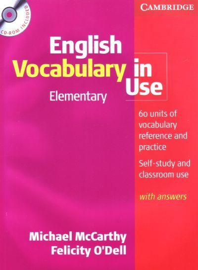 Whether you're studying on your own or in class, English Vocabulary in Use Elementary covers all the words and phrases you need at this level to understand and be understood in English. This new edition is fully updated to make the book even more relevant and accessible.