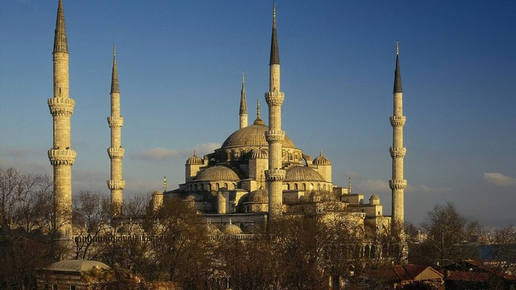 Blue Mosque, I have been here! 1 check of the 7 wonders of the world to see! :)
