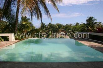 Dom. Rep. Karibik Immobilie Haus Meerblick, Pool, Strandnah