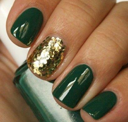 nageldesign bildergalerie nail art in grün