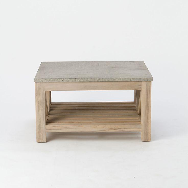 Stone Top Outdoor Coffee Table: Outdoor Living, Teak And Teak