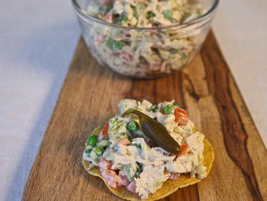 Mexican chicken salad - Mexican chicken salad recipe | Quericavida.com