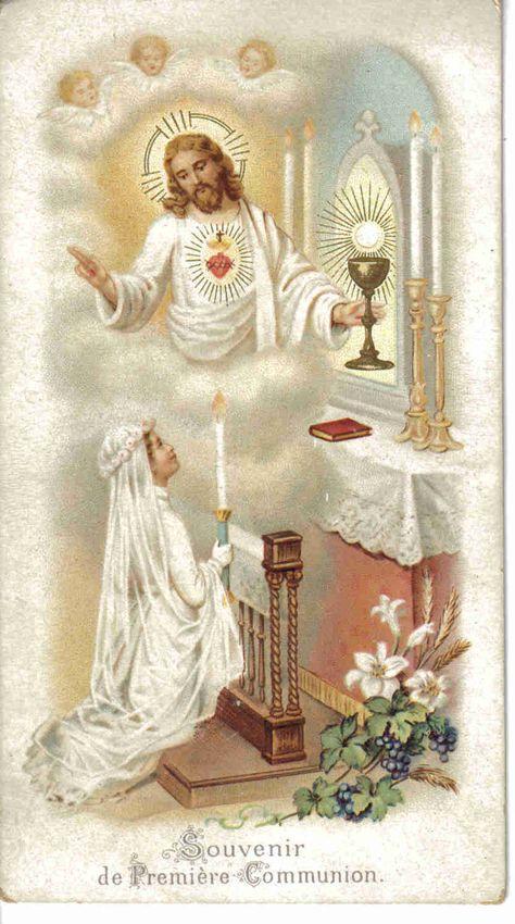 image de première communion.