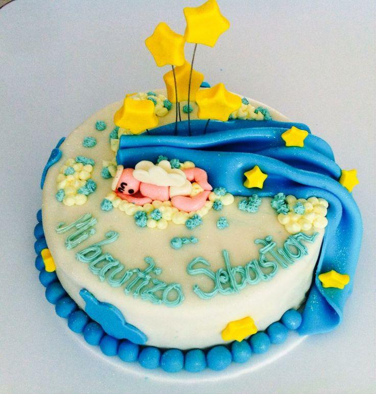 torta para bautizo!