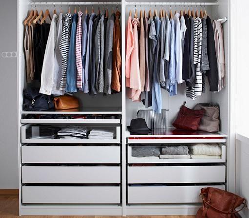 17 mejores ideas sobre vestidores baratos en pinterest - Armarios abiertos baratos ...