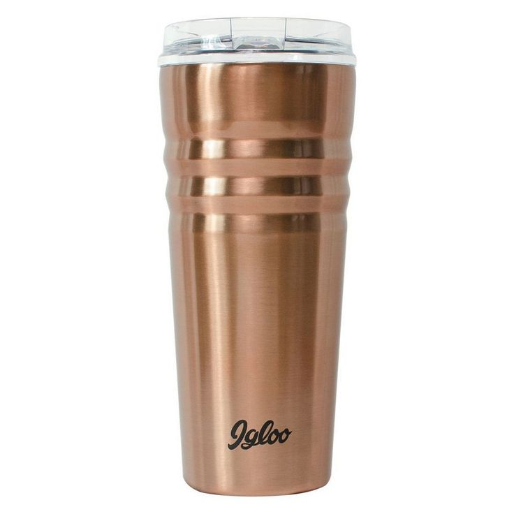 Igloo Legacy Stainless Steel Vacuum Insulated Tumbler - Copper (Brown) (20oz)